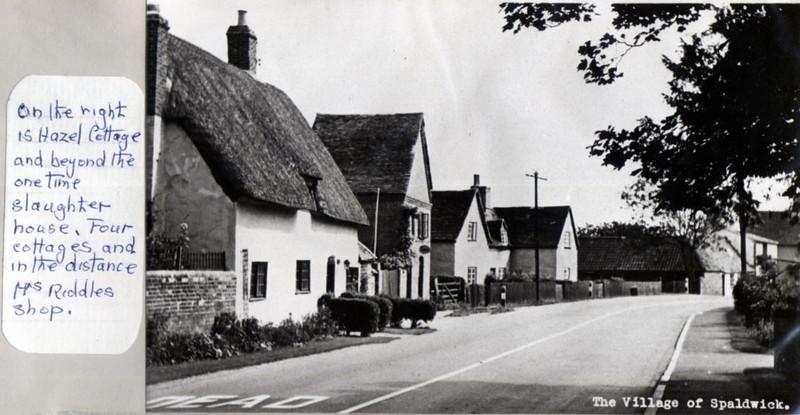 Old cottages, including Hazel Cottage Provided by Elizabeth Smith
