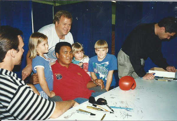 ALI with Dad Luke Sarah Katie