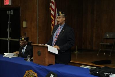 American Legion Honoring Hempstead Village Officers Sgt. Steve Horowitz, Officer. Juan Miranda, and Officer. Mathew Murphy - May 23,2017