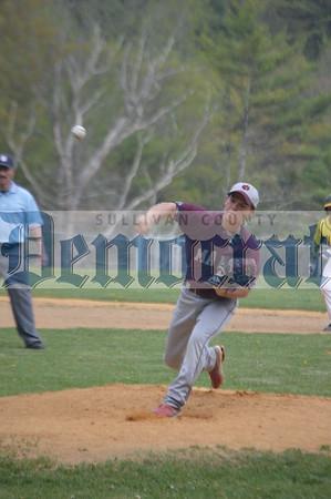 Eldred vs Manor boys Baseball