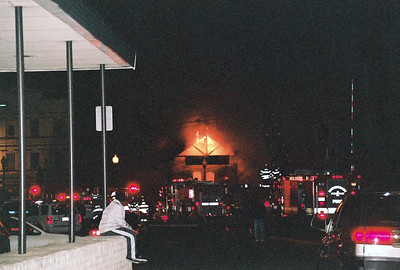 Hackensack 3rd Alarm Anderson Ave. Train Station 1-10-09