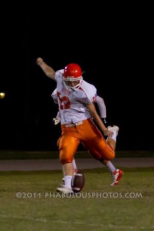 Boone JV Football #12- 2011