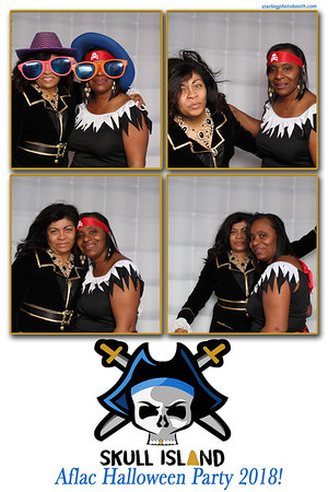 Aflac Halloween Party