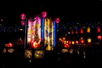 Lanterns in Hong Kong Park