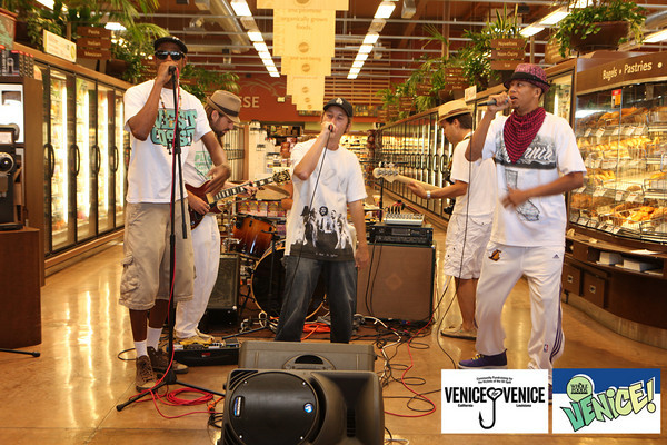 08.14.10  Venice for Venice Kick off party at Whole Foods.