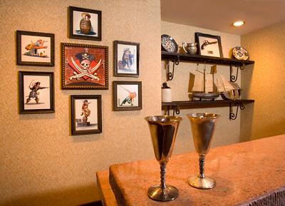Inside the Disneyland Hotel Pirates of the Caribbean Suite at Disneyland Resort