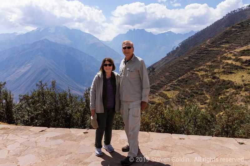 Thin air - 11,000 feet of elevation