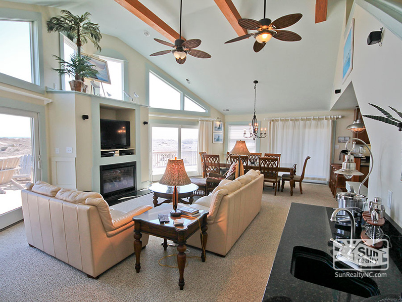 Top-Level Living Area