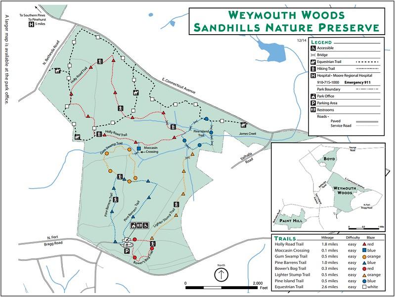 Weymouth Woods Sandhills Nature Preserve