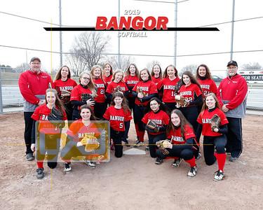Bangor softball SB19