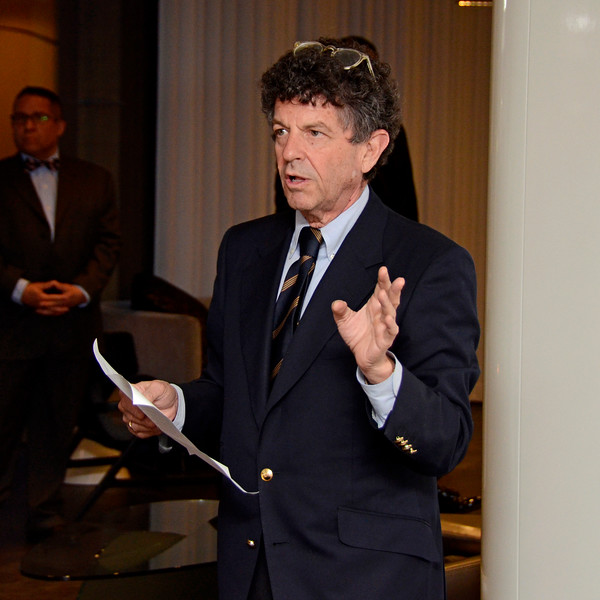 Michael Gross AVENUE MAGAZINE Presents an Insider Dinner and Preview of the Late Architect Zaha Hadid's Final Luxury Condo Complex Over the High Line 520 West 28th Street   NYC, USA - 2017.04.27 Credit: Lukas Greyson