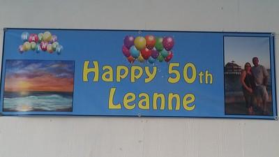 Leanne 50 th