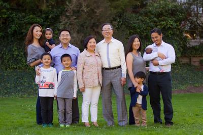 The Shum Family Extended 2016