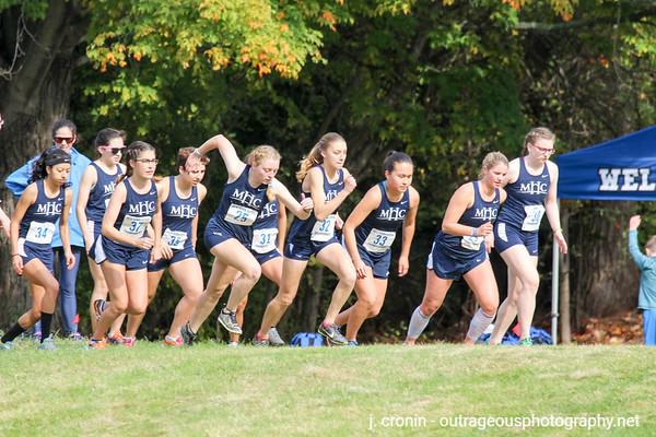 Seven Sisters XC Championships at Wellsley 2016