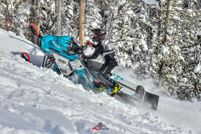 Ski-Doo  Lost Trails Day 1