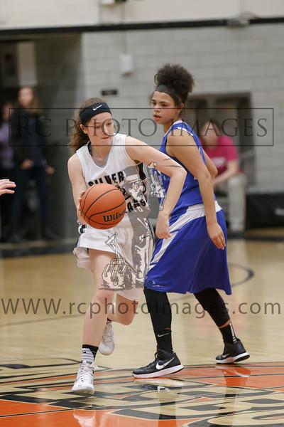 Galesburg Girls Sophomore Basketball vs Quincy Feb. 4, 2016