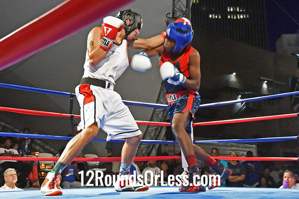 Bout #12 Isiah Steen, Cleveland/Soul City Boxing -vs- David Rodriguez, Akron/ABA, 155 lbs