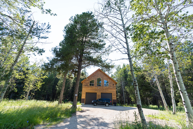 Our VRBO cabin in Island Park, Idaho; located on Bootjack Dr.