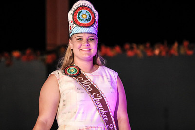 Miss Cherokee pageant, October 3