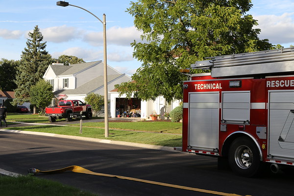 Carol Stream bedroom fire on Hemlock Ln. 9-21-18