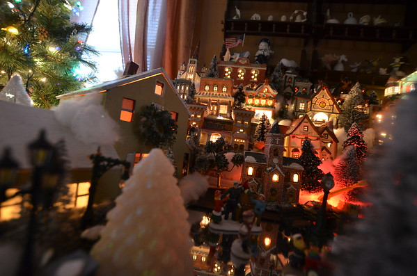 Mom's Christmas Village 2016