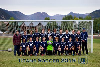 CBCS Boys Soccer Fall 2019