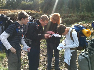 DofE Practise Camp on Woodbury Common