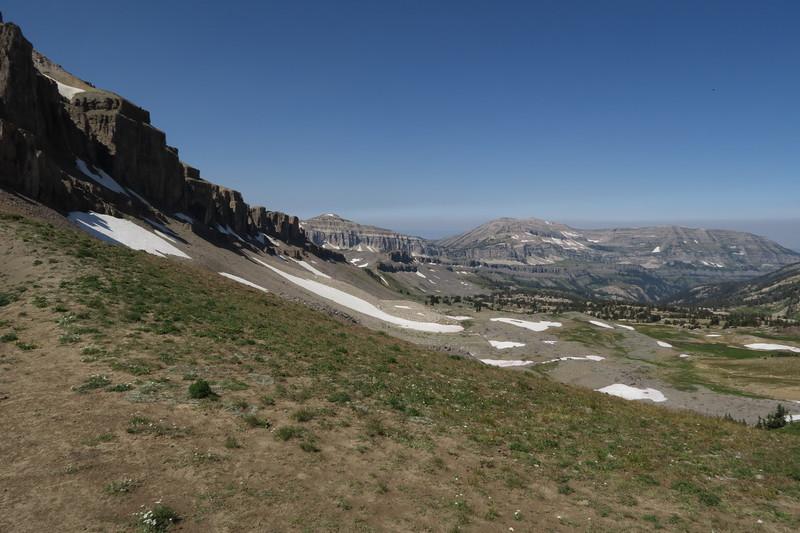 Upper Alaska Basin from Buck Mountain Pass
