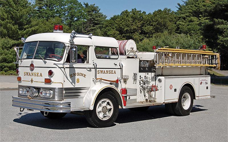 Retired E-8.  1967  Mack C-95.  1000 / 500