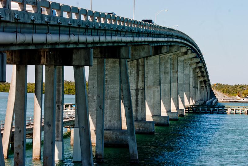 Curve of the Bridge in Florida