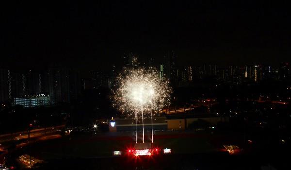 Fireworks @ Clementi Stadium