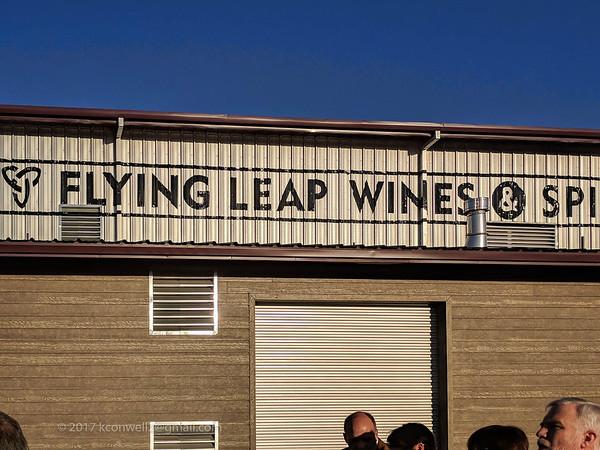 Flying Leap Wedding