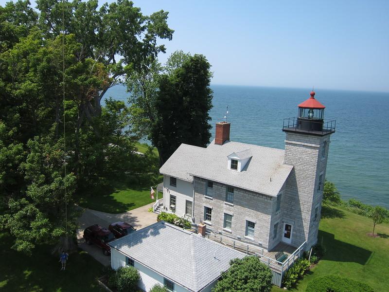 """Sodus Bay lighthouse<br />  <a href=""""http://www.soduspointlighthouse.org/"""">http://www.soduspointlighthouse.org/</a>"""