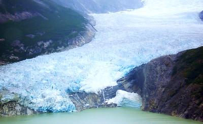 Flight over Glaciers