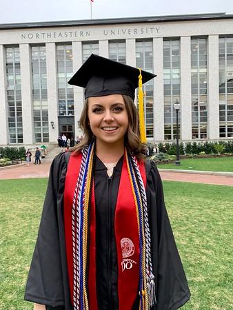 Michelle's graduation May 1-3, 2019 Northeastern University