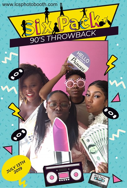 SixPack 90s Throwback 7/13/19