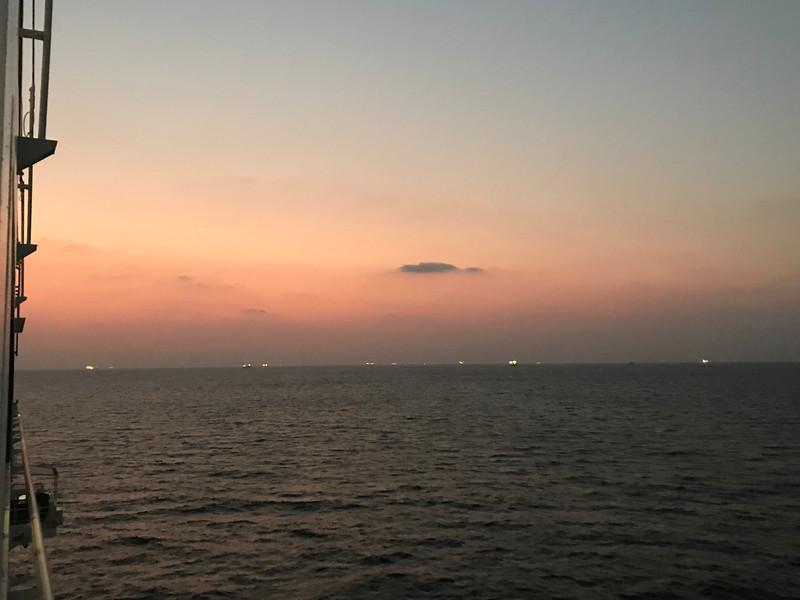 Leaving Mangalore, India
