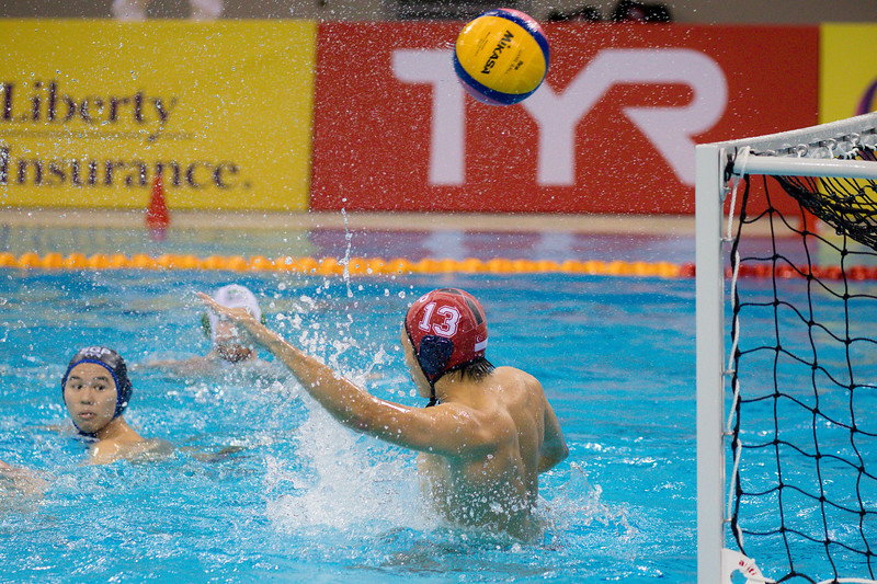 Players in action against Ireland Vs Singapore at OCBC Aquatic Centre  at Singapore on 12th oct 2019. Photo by Sanketa Anand/Sport Singapore