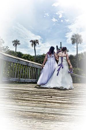Judy and Tamera Sroka Wedding