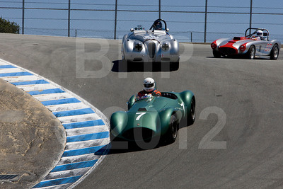 2012 Monterey Pre-Reunion Saturday Group 1 1947-1955 Sports Racing and GT Cars