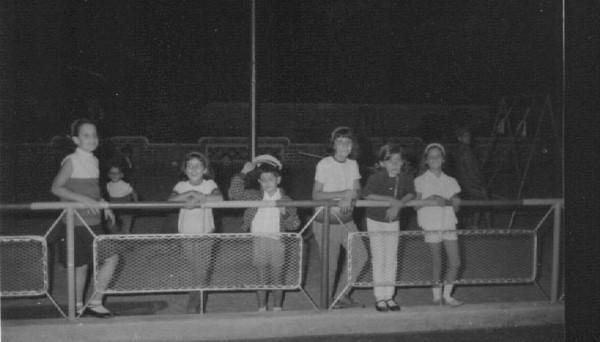 Parque infantil, Andrada, 1966 Loli e Isabella