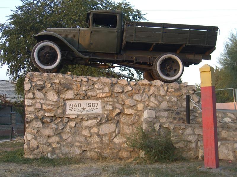 Old Memorial Truck - Osh, Kyrgyzstan