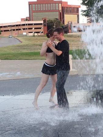 Tango in the Fountain 7-26-15
