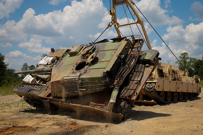 2018 07 25 M88A2 HERCULES Vehicle Recovery Operations