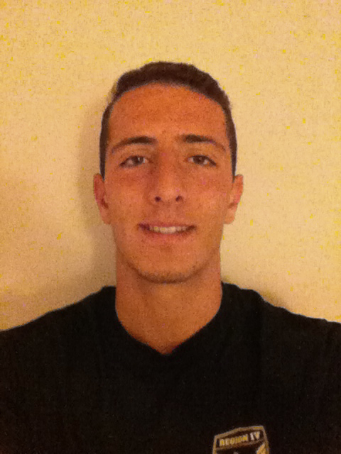 . Joseph Barakat head shot from West Torrance boys soccer team