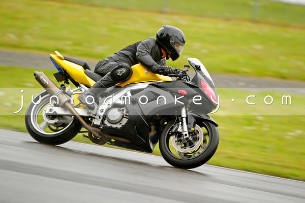 Suzuki - Black Yellow SV