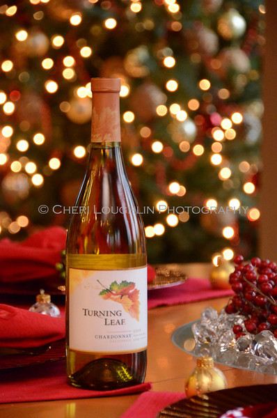 Turning Leaf Chardonnay - Cheri Loughlin Wine & Spirits Stock Photography