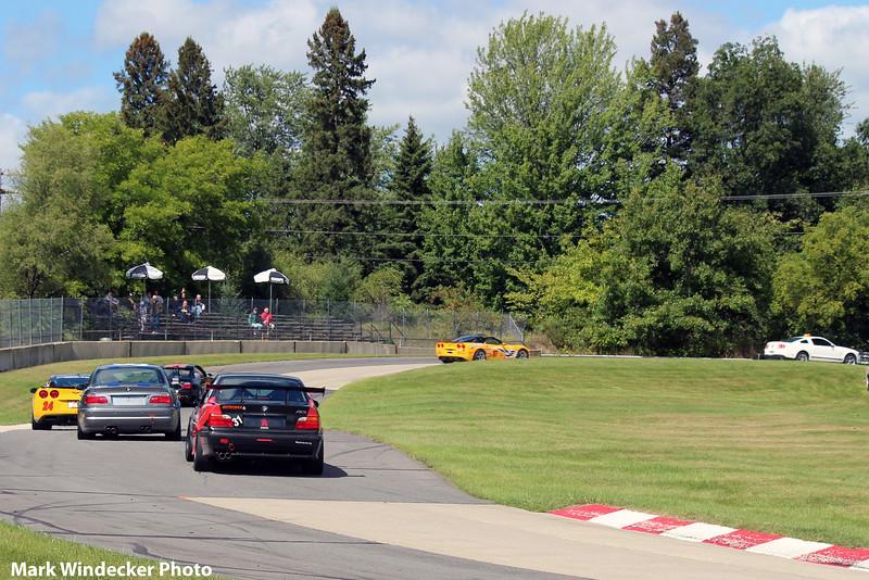 Feature Race Pace Lap