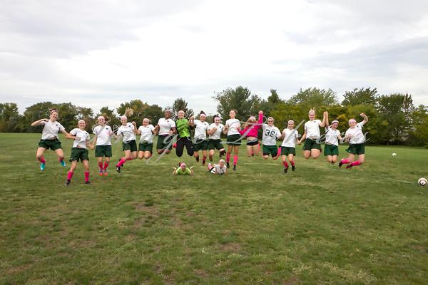 2012 JV Soccer v RPCS Pink