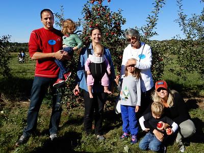 September 29. 2018. Hillcrest Apple Orchard in Amherst.